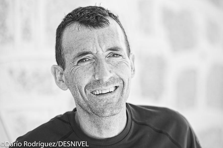 Miguel Heras  ganador del GTP Peñalara 115k. y Campeón de España de Ultratrail 2015