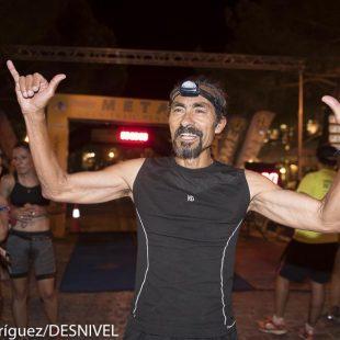 El corredor americano Pablo Vigil (63 años)