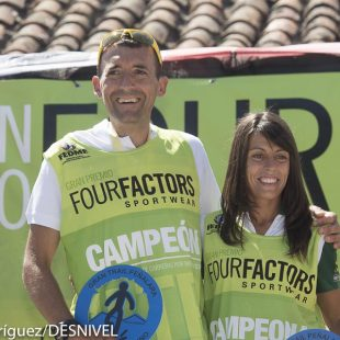 Miguel Heras y Gemma Arenas ganadores del GTP Peñalara 115k y Campeones de España de Ultratrail.