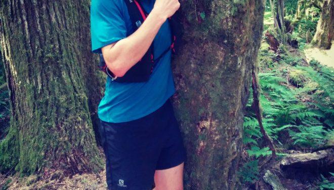 Gary Robbins en el Wonderland Trail