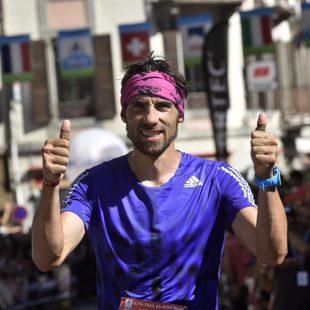 Luis Alberto Hernando en el Ultra Trail Mont Blanc 2015