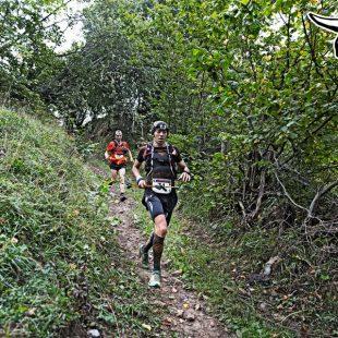 Luis Tejero en el Ultra Trail Güeyos del Diablo 2015