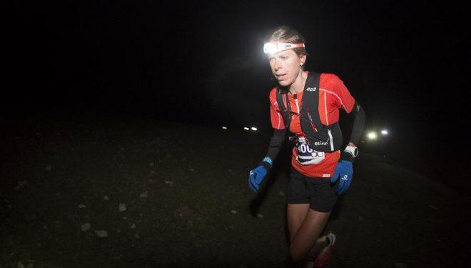 Laura Orgue ganadora kilómetro vertical Ultra Pirineu 2015