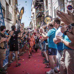 Llegada de los últimos a la Cursa per Muntanya de Vistabella 2015