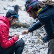 Kilian Jornet y Jordi Tossas en Nepal en planeando su proyecto con SOS Himalaya