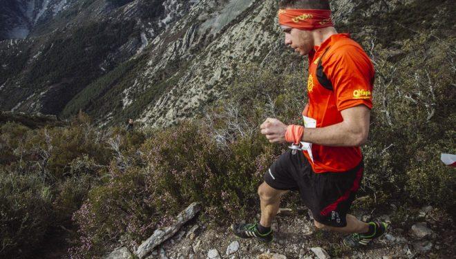 Participante en la edición 2015 de la carrera Tres Valles