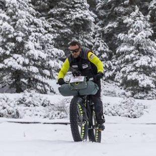 Antonio de la Rosa en Fat Bike