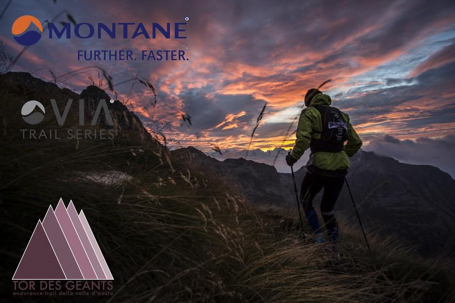 Tor des Geants 2016 patrocinado por Montane