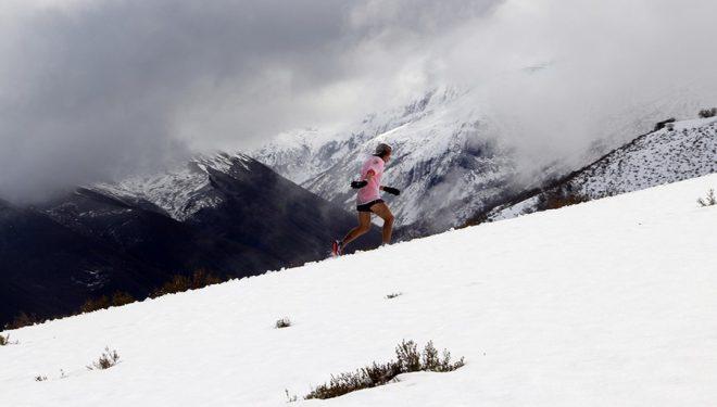 Participante en la Carrera del Alto Sil 2016.