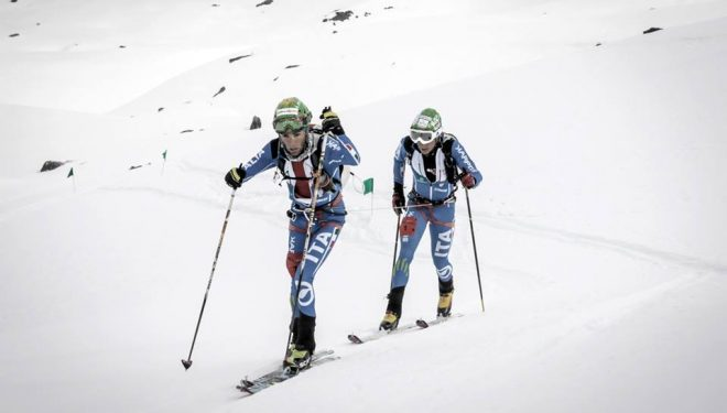 Michele Boscacci y Matteo Eydallin en el Tour du Rutor 2016