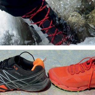 Foto1: dos zapatillas con un drop aparentemente muy diferente