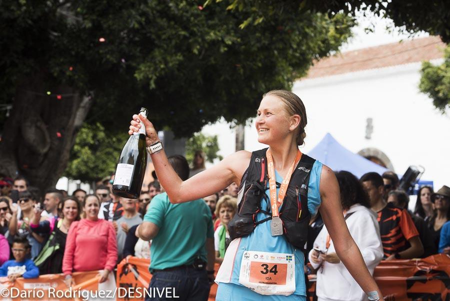 La corredora sueca Ida Nilsson ganadora femenina Transvulcania 2016