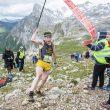 Participante en la carrera Kilómetro Vertical Fuente Dé 2014