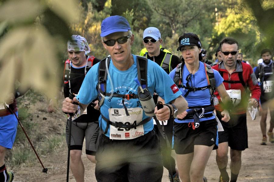 Participantes en el Maratón Alpino Madrileño 2015
