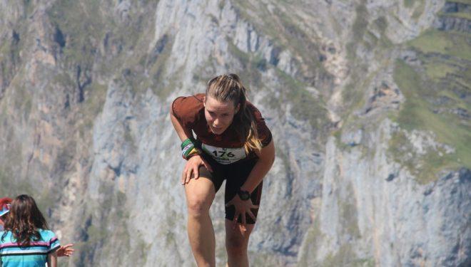 Participante en la carrera Kilómetro Vertical Fuente Dé 2015