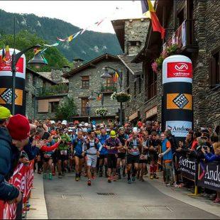 Arranque de la Ronda dels Cims en Ordino (Andorra) 2014