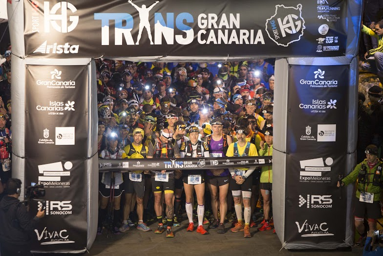 Salida de la Transgrancanaria HG 2016