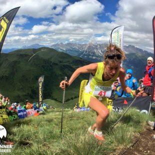Laura Orgué en el Dolomites Vertical Kilometer 2016