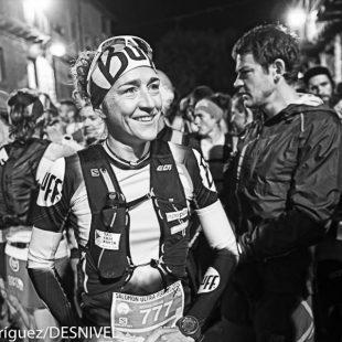Nuria Picas en la salida Ultra Pirineu 2015. Quedó tercera.
