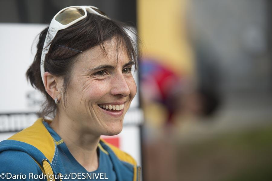 Maite Maiora ganadora Kilómetro Vertical Zegama Aizkorri 2016