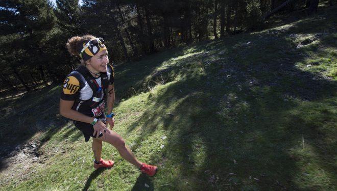 Nuria Picas en la Ultra Pirineu 2015. Quedó tercera.