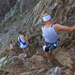 Tramo de descenso técnico en la Maratona del Cielo