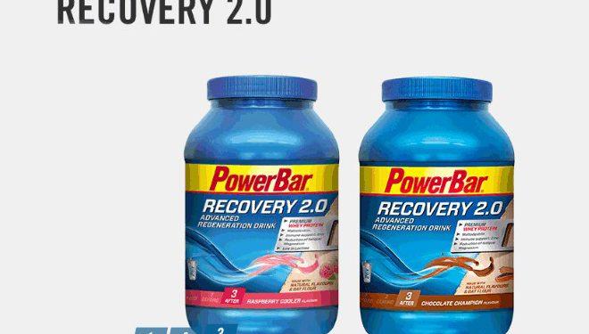 Batido de recuperación Recovery 2.0 de PowerBar