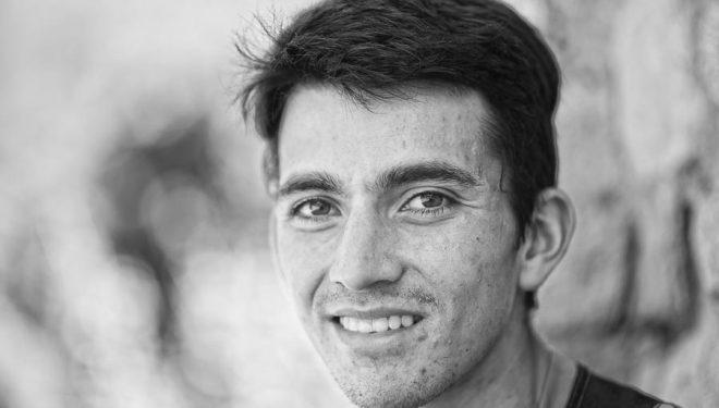 El corredor colombiano Saúl Padua en el Campeonato Mundo Carreras por Montaña 2016 celebrado en el Pirineo donde quedó segundo en el Kilómetro Vertical.
