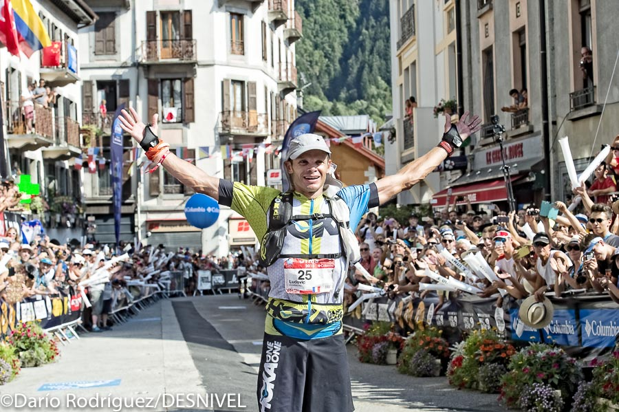 Ludovic Pommeret ganador de la UTMB 2016