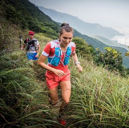 Yngvild Kaspersen en la Lantau 2 Peaks 2015