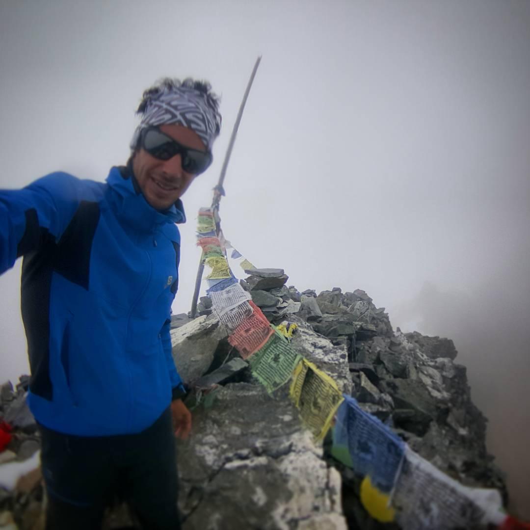 Kilian Jornet aclimatando en Langtang. Septiembre 2016