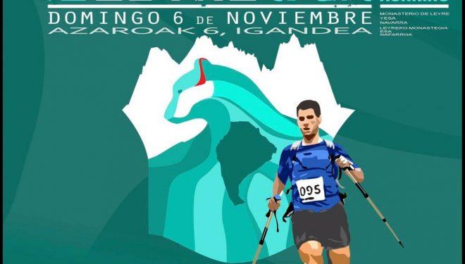 Cartel del I Juan Miguéliz Trail Leyre 2016
