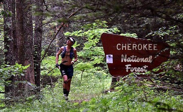 Scott Jurek en el Appalachian Trail