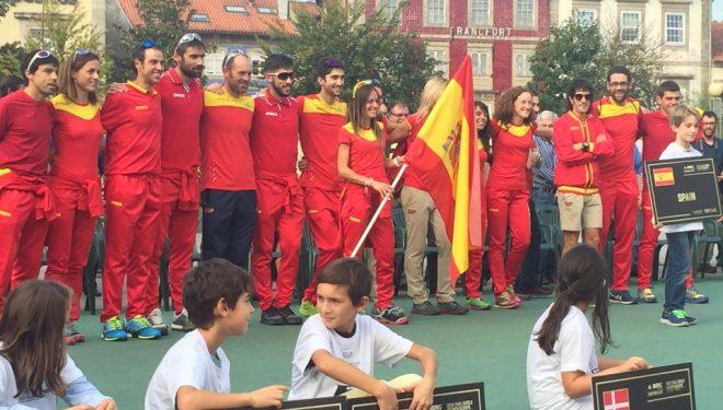 Delegación española en el campeonato del mundo de trail