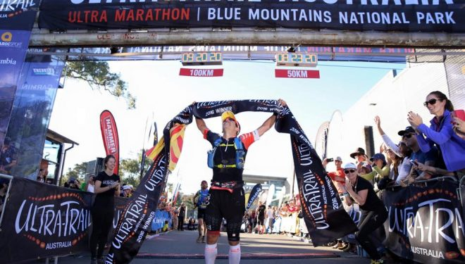 Pau Capell en la Ultra Trail Australia 2016