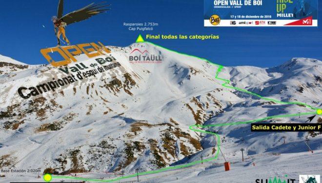 Cronoescalada de la 1ª prueba Copa España Esquí Montaña 2017