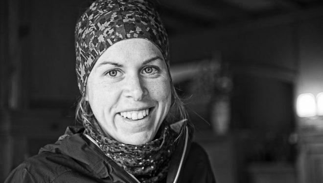 La corredora Laura Orgué en abril 2016