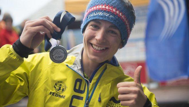 Oriol Cardona segundo en categoría junior masculina Vertical Race