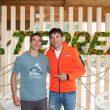 El escalador Beto Rocasolano y el corredor Luis Alberto Hernando