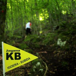 Una de las bonitas imágenes que cada año nos deja la Zegama Aizkorri