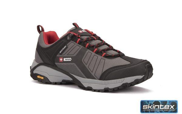 Zapatillas +8000 TESAS gris oscuro con suela VIBRAM