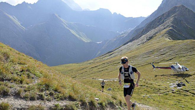 Sébastien Camus durante la CCC del Ultra Trail Mont Blanc 2013.