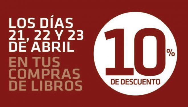 Día del libro. 10% de descuento en tus compras de libro en Libreriadesnivel.com