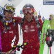 Oriol Cardona y Marc Pinsach en la meta tras primera etapa Altitoy 201