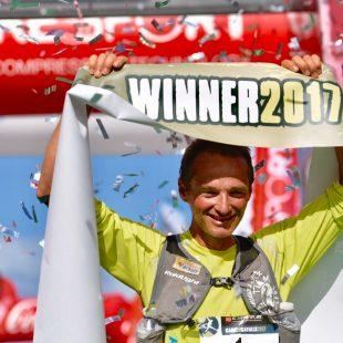 Antoine Guillon se ha proclamado vencedor por segunda vez en la VI Compressport Trail Menorca Camí de Cavalls
