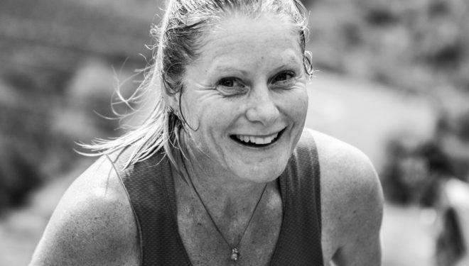 Anna Frost en el maratón Zegama-Aizkorri 2017