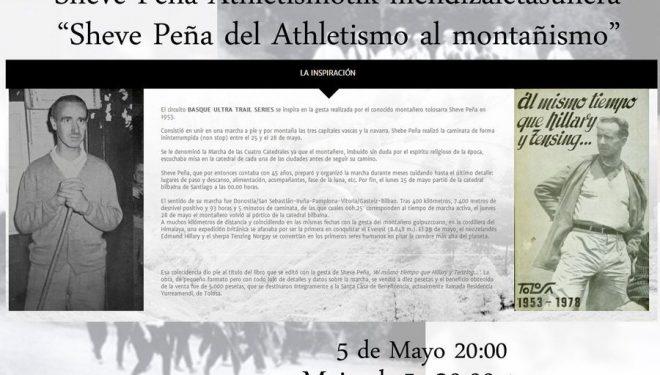 Cartel de la conferencia de Sheve Peña