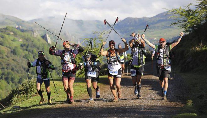 Participantes en la Ultra Trail Picos de Europa 2017