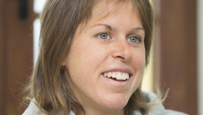 Laura Orgué ganadora del Kilómetro Vertical Zegama Aizkorri 2015