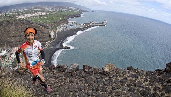 Yuri Yoshizumi ganadora del Kilómetro Vertical de la Transvulcania 2017